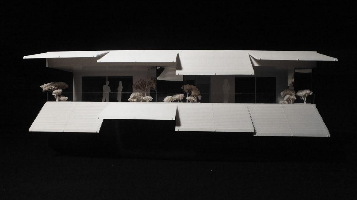 maquette artcode montpellier