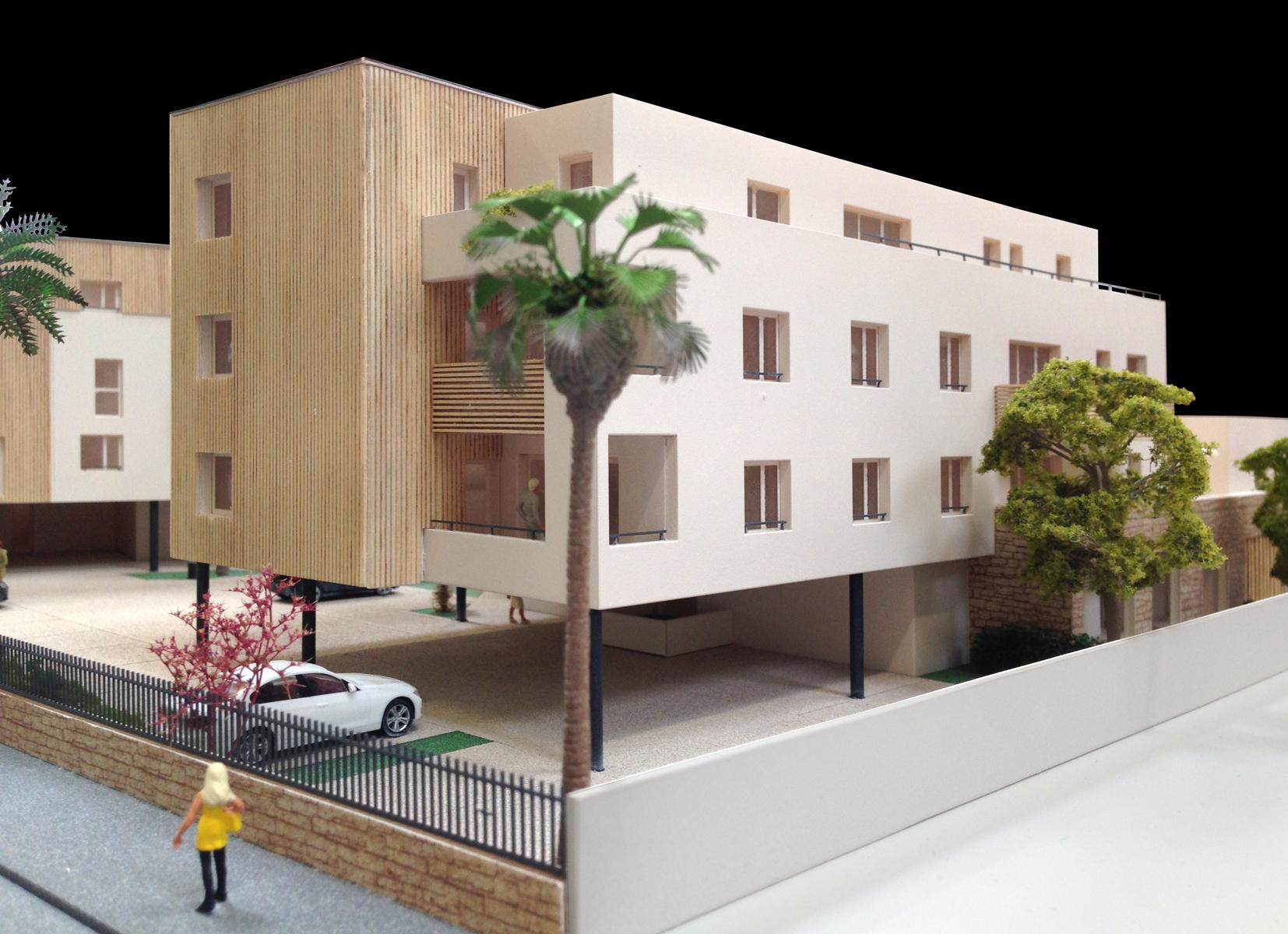 atelier-maquette-design-AM&D-montpellier-architecture-promoteur-fabregues-nicolas-constant-herault-architecte-les jardins de baillargues-european homes